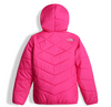 The North Face Girl's Reversible Perrito Jacket shown here in Petticoat Pink (Back). NF0A2TMG