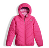 The North Face Girl's Reversible Perrito Jacket shown here in Petticoat Pink. NF0A2TMG