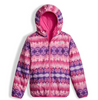 The North Face Girl's Reversible Perrito Jacket shown here in Petticoat Pink (Liner). NF0A2TMG