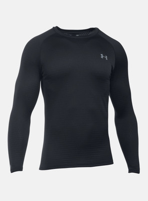 Under Armour Base Layer | Men's Base 2.0 Crew shown in Black
