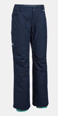 Under Armour Pants | Women's ColdGear Infrared Chutes | Insulated  1280895 - Midnight Navy/Blue Infinity