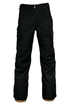686 Snowboard Pants | Men's Smarty 3-in-1 Cargo | KCR210 | Black | Front