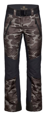 Goldbergh Ski Pants | Women's Kuru shown in Jungle