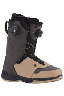 Ride Lasso Snowboard Boots '18 | Men's | R1703001021 | Black | Tan | Side