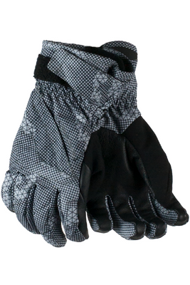 Obermeyer Gloves | Kid's Cornice shown in Grey Bit Camo