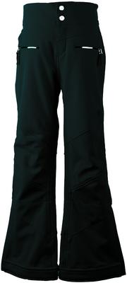 Obermeyer Ski Pants | Girl's Jolie Softshell shown in Black