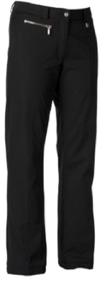 Nils Melissa Semi-Relaxed Insulated Stretch Ski Pants have 40g of Thermore insulation. Shown in Black.