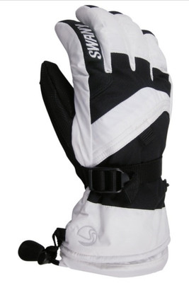 Swany X-Over Gloves | Junior | SX65J | White | Black