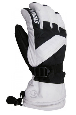 Swany X-Over Glove | Women's | Past Season | SX65L | White | Black