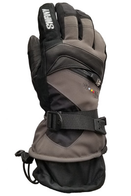 Swany X-Change Gloves | Men's | SX80M | Dark Grey | Black