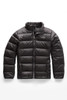 The North Face Andes Down Jacket   Boy's   NF00CHQ6   KU6   TNF Black   Graphite Grey   Front
