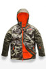 The North Face Ski Jackets | Boy's Brayden Insulated Jacket | NF0A3CPS | 5NB | New Taupe Green Camouflage Print | Front