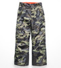 The North Face Freedom Insulated Ski Pant | Boy's | NF0A34RE | 5NB | New Taupe Green Camouflage Print | Front