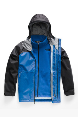 The North Face Vortex Triclimate Ski Jacket | Boy's | NF0A2TLE | WXN | Turkish Sea | Front
