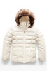The North Face Gotham 2.0 Down Jacket | Girl's | NF0A34V9 | 1TP | Vintage White | Front