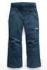 The North Face Freedom Insulated Ski Pant | Girl's | NF0A34V1 | N4L | Blue Wing Teal | Front
