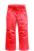 The North Face Freedom Insulated Ski Pant | Girl's | NF0A34V1 | D5S | Rocket Red | Front