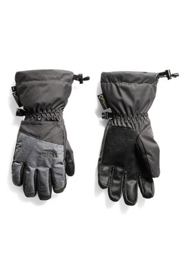 The North Face Montana Gore-Tex Glove | Youth | NF0A3IGJ | ZRM | Graphite Grey | TNF Medium Grey Heather