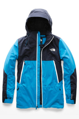 The North Face Apex Flex GTX 2L Snow Ski Jacket | Men's | NF0A3IGC | QZJ | Hyper Blue | Urban Navy | Front