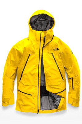 The North Face Purist Ski Jacket | Men's | NF0A3IG4 | B0R | Canary Yellow | TNF Black | Front