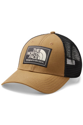 The North Face Mudder Trucker Hat | Men's | NF00CGW2 | ZTG | Cargo Kahki Heather | Weathered Black