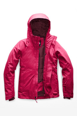 The North Face Descendit Ski Jacket | Women's | NF0A3KQL | 657 | Cerise Pink | Front