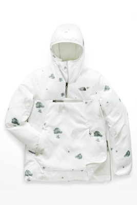 The North Face Vinny Ventrix Pullover | Women's | NF0A3LUJ | 8DX | TNF White Snowcamito Print | Front