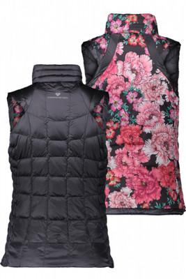 Obermeyer Down Vest | Women's Soleil Reversible II | 14019 | 18004 | Nightfall | Back