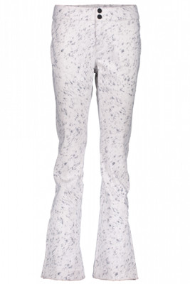 Obermeyer Ski Pant | Women's Print Bond | 15013 | 8101 | Feline Frost | Front