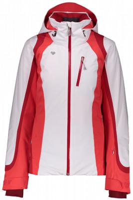 Obermeyer Ski Jacket | Women's Jette | 11108 | 6010 | White | Back