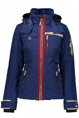Obermeyer Ski Jacket | Women's Hadley | 11075 | 7163 | Resort at Midnight | Back