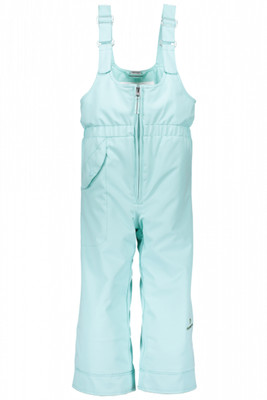 Obermeyer Ski Bib | Girl's Snoverall | 55018 | 7060 | Sea Glass | Front