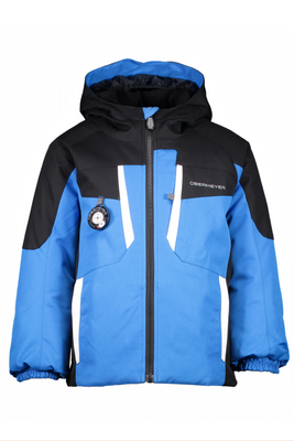 Obermeyer Ski Jacket | Boy's Horizon | 61031 | 6068 | Stellar Blue | Black | Front