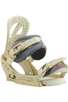 Burton Scribe EST | Women's Snowboard Binding | 105601 | 606 | Dusty Rose | Front