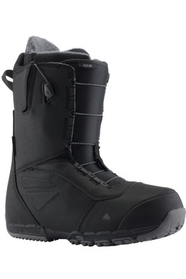Burton Ruler Wide Speedzone | Men's Snowboard Boot | 131751 | 001 | Black | Front