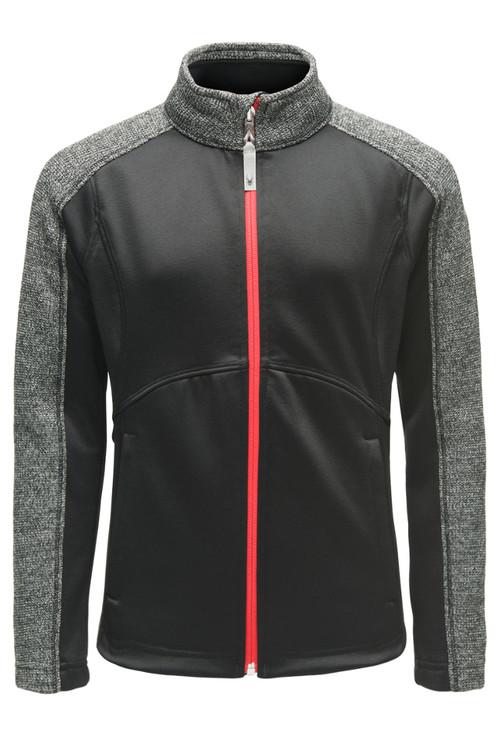 Spyder Bandita Stryke Jacket   Girl's   184070   001   Black   Front