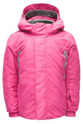 Spyder Bitsy Glam Ski Jacket | Girl's | 184512 | 670 | Taffy Pink | Front