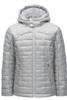 Spyder Edyn Hoody Insulated Jacket | Girl's | 184054 | 040 | Silver | Front