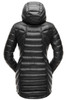 Spyder Syrround Faux Fur Down Jacket | Women's | 182391 | 001 | Black | Back