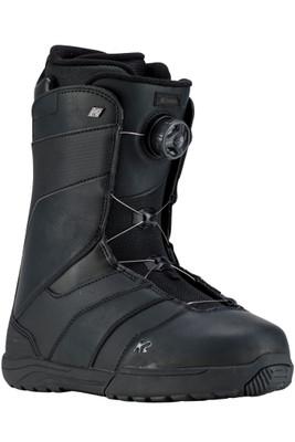 K2 Raider Snowboarding Boot | Men's | Raider19 | Black | Front Angle