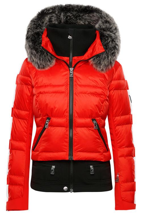 faa0048f4ca Toni Sailer Virginie Women s Fur-trimmed Ski Jacket