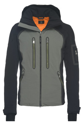 Bogner Keith-T Men's Ski Jacket | 312419 Grey with Black Sleeves