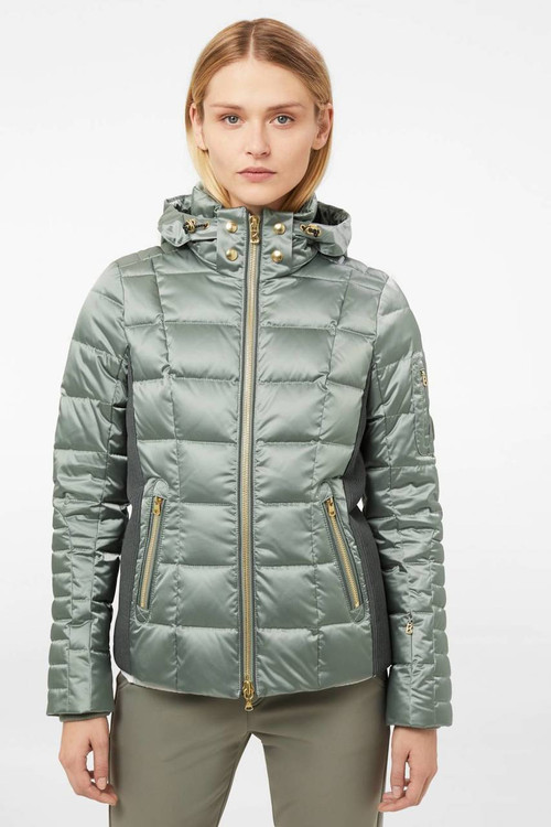 Bogner Uma-D Jacket | Women's | 315419 | Dark Seagreen | Lifestyle