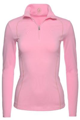 Bogner Madita Ladies 1/4 Zip Turtleneck | 5156 in Pink