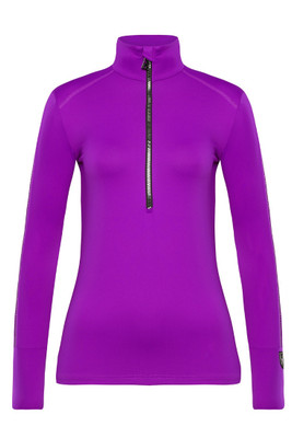 Toni Sailer Marjan Women's 1/2 Zip T-Neck Layer | 282302 in Pink Burst!