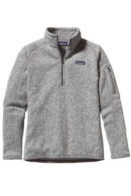 Patagonia Better Sweater Quarter Zip | Women's | 25617 | BCW | Birch White | Front