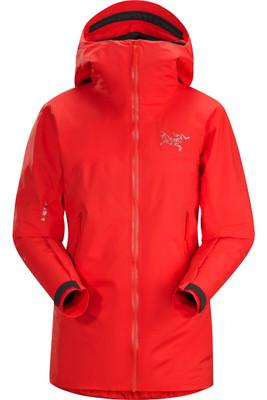 Arc'teryx Airah Women's Ski Jacket | 16212 | Hard Coral | Front