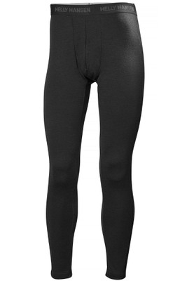 Helly Hansen Lifa Merino Pant | Men's | 48320 | 990 | Black | Front