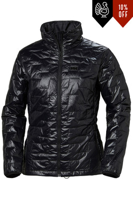 Helly Hansen LifaLoft Insulator Jacket | Women's | 65625 | 990 | Black | Front