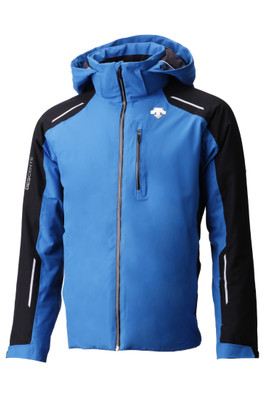 Descente Challenger Ski Jacket | Men's | DWMMGK20B | 6093 | Airway Blue/ Black | Front